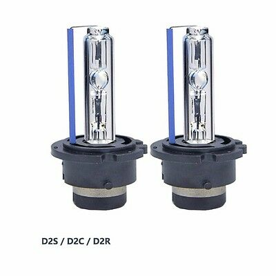 Pair New HID Xenon Bulbs D2S-8000K D2R Replace Osram or Philips Headlight Bulbs