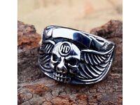 Mens Stainless Steel Ring
