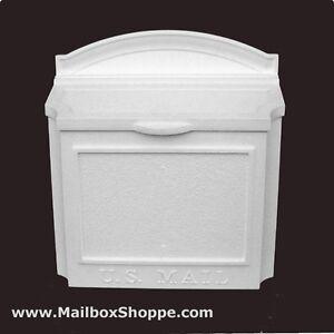 Whitehall Wall Mount Mailbox Cast Aluminum Mail Box