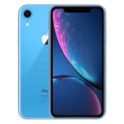APPLE IPHONE XR 64GB TELEFONO MOVIL LIBRE SMARTPHONE COLOR AZUL 4G MRYA2QL/A