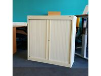 Bisley Small Tambour Cupboard