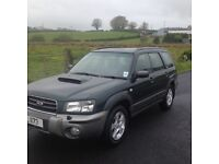Subaru Forester gas converted
