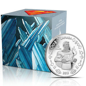 2013 75th Anniversary Fine Silver Superman coins - Vintage