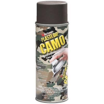 6 Pk 11 Oz Performix Plasti Dip Brown Camo Rubber Coating Spray Paint 11216-6