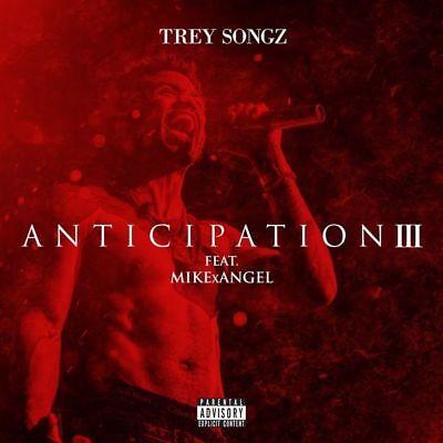 Trey Songz   Anticipation 3 Mixtape Cd  Front   Back Cover Artwork