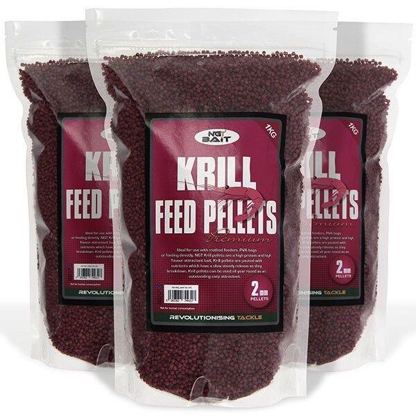1kg krill 4mm feeder pellets