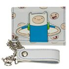 Chain White Wallets for Men Wallets