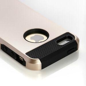 Gold Black iPhone 5 5S 6S Bumper Cover Case Shockproof Dirt Dust Regina Regina Area image 4