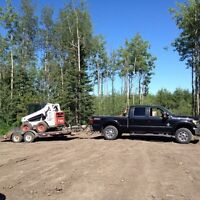 Skidsteer and labour services for hire