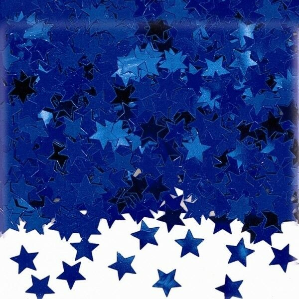 Blue Sparkle STAR Wedding Confetti Table Decoration - Also Ideal for Crafts
