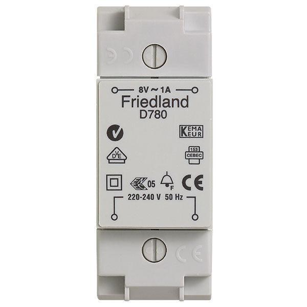 Honeywell Friedland D780 8v Ac 1a Bell Chime Transformer Ebay