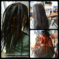 Dreads of your dreams... by The Rasta Masta! Limited time in TO!