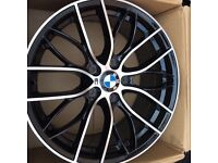 "BMW 405m m performance style alloy wheels 18"" brand new boxed 5120 m sport alloys"
