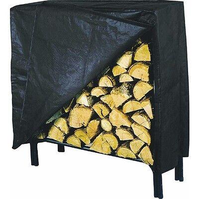 Log Rack Cover Medium Firewood Wood Heavy Duty Vinyl Storage Holder Cover