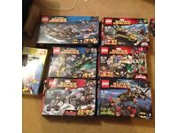 7 Lego sets all complete 100% Lego collection