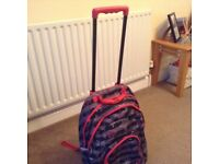 Cabin bag with wheels
