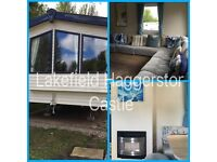 STATIC CARAVAN HIRE AT HAGGERSTON CASTLE