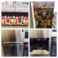 ICE CREAM & SLUSH MACHINES! TURBO CHEF OVEN! PERFECT FRY & MORE!
