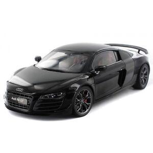 1/18 Kyosho Audi R8 5.2 Gt Phantom Noir # 9218pbk
