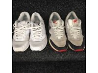 Nike air max trainers (size7)