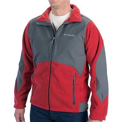 Columbia Sportswear Nordic Trekker II Windproof Men Fleece Jacket - Size L Columbia Fleece Windproof Jacket