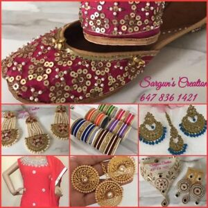 KarvaChauth special Suits and jewelry