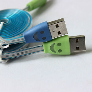 LIGHT UP LED MICRO USB DATA CABLE CHARGER FOR HTC LG SAMSUNG SON Regina Regina Area image 3