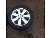 16 inch ford mondeo alloy rims tyres no good £40 each ono