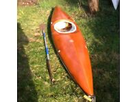 Sea Kayak with paddle £40 if gone by the 24th!!!