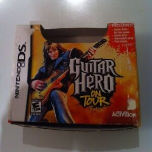 Guitar hero controller for Nitendo DS 4 sell ** LIKE NEW **