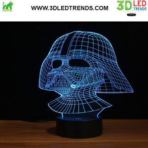 3D LED Night Light Illusion with ABS Base *7 changing colors* Kitchener / Waterloo Kitchener Area image 1