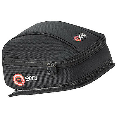 QBag Motorbike Motorcycle Luggage Touring Small Box Tail Bag 3 - Black