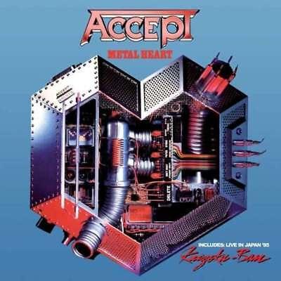 Accept - Metal Heart / Kaizoku-ban ~ Li NEW CD