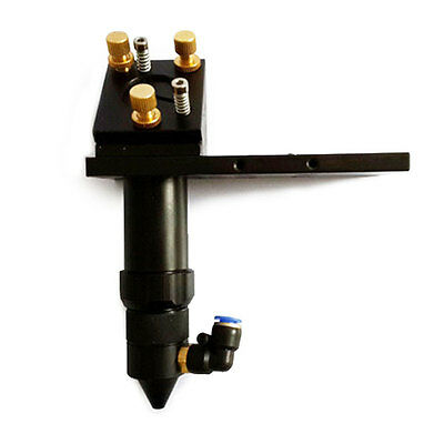 Co2 Laser Cutting Head With Air Assist Laser Dot Frame Dia 20mm Lens