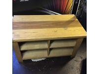 TV unit - solid wood
