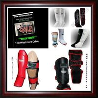 BENZA SHIN GUARDS ON SALE STARTING AT $9.99 + FREE SHIPPING!!