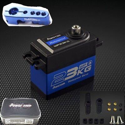 Power HD WP-23KG Waterproof High Torque Metal Gear Digital Servo + Aluminum Horn