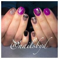 Gel nails ! Day & evening appts available !
