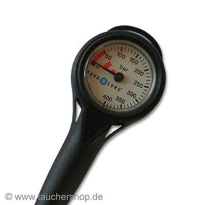 Aqua Lung Termo Finimeter / Manometer 0-400 bar mit Hochdruckschlauch - Neuware