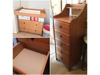 Changing Table & Chest Of Drawers