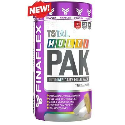 Finaflex TOTAL MULTI PAK 30 Packs MUSCLE VITAMINS - Bodybuilders, Athletes Pak 30 Paks