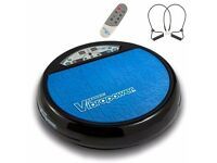 Vibrapower Disc 2 Limited Edition New Year, Resistance Bands & Remote - RED BLUE PURPLE
