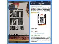 Spaghetti western dvd collection