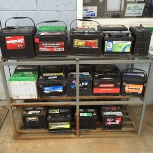 Quality used automotive batteries for sale!