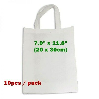 7.9 X 11.8 Blank Sublimation Non-woven Shopping Bags Tote Bags Heat Transfer