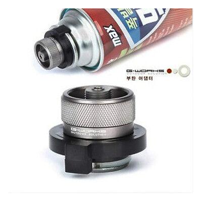 New G Works, Butane Adapter Duralumin 40g Convert Cylinder Type To Screw Outdoor