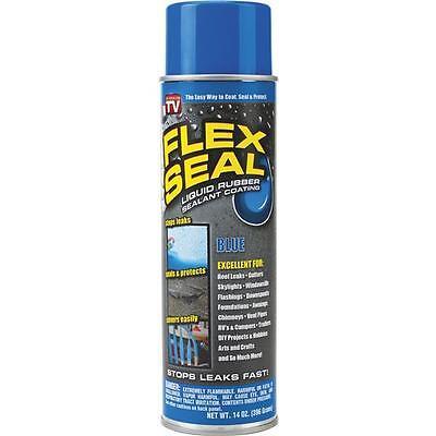 Flex Seal 14 Oz Blue Aerosol Spray Rubber Sealant Fsblur20