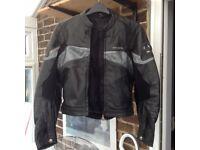 Men's pro sports motorbike jacket.