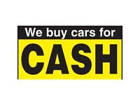 WE BUY ANY CARS, MOTORBIKES OR VANS FOR CASH!!! Even not running, damaged, faulty GIVE US A TRY!