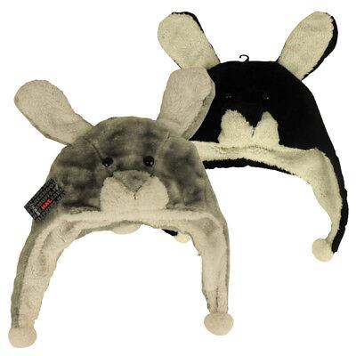 pper Mädchen Kinder warme Winter Hut nette Tiere gefüttert A (White Rabbit Hut)